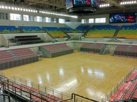 鹤岗体育馆